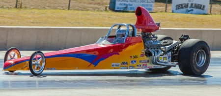 Drag Racing in Texas Stock Photo - 18800029