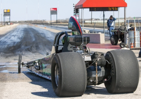 Drag Racing in Texas Stock Photo - 18864470