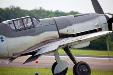 pilotos aviadores: Antiguo avión en Alemania