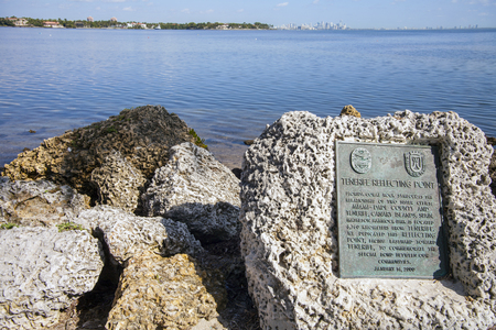 key biscane: Key Biscayne Miami Florida Foto de archivo