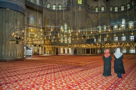 prayer tower: Istanbul Turkey Blue Mosque Sultan Ahmet Mosque
