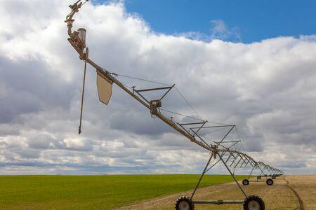 pivot: Center pivot irrigation (irrigation district) in Idaho