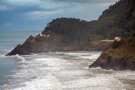 reisen: America rugged Pacific coast of Oregon