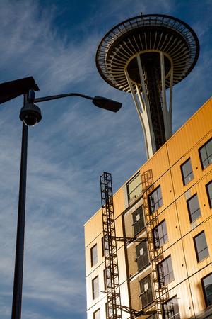 statics: Space Needle in Seattle Washington