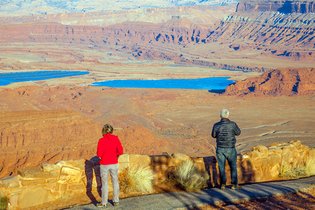 desert ecosystem: Dead Horse Point State Park Utha