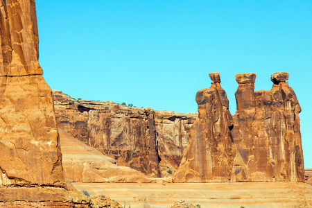 arches national park: Arches National Park Moab Utah Stock Photo