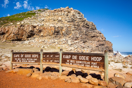 hope: Cape of Good Hope Stock Photo