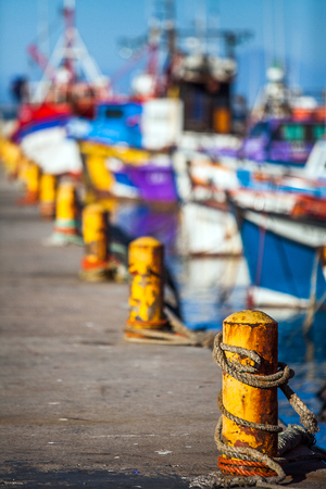 Fishing port in Fish Hoek South Africa