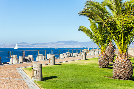 faraway: At the waterfront in Cape Town South Africa Stock Photo