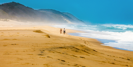Beach iSimangaliso Wetland Park South Africa Stock Photo