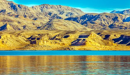 Lake Mead National Erholungsgebiet in Arizona Standard-Bild - 73835654