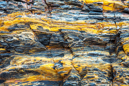 Rock formation on the coast in New South Wales Australia