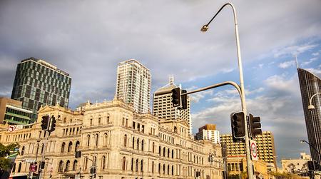 View of Brisbane Queensland Australia Stock Photo