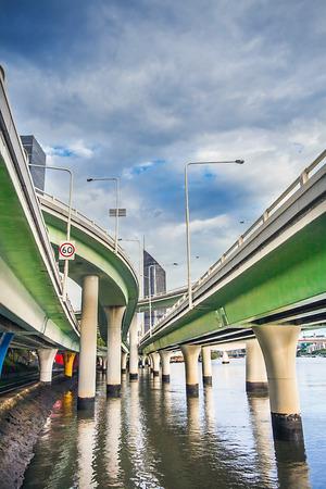 Highway in Brisbane Queensland Australia