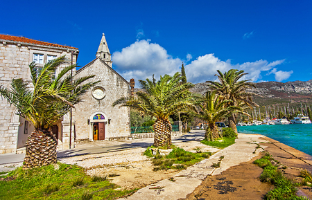 The Mokosica district of Dubrovnik Croatia