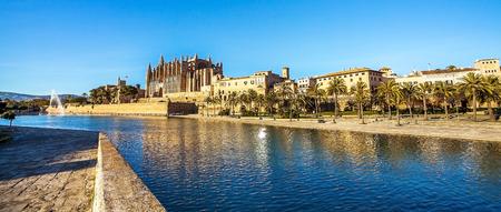 Palma de Mallorca Mallorca Spain 12.22.2018 at the Cathedral La Seu