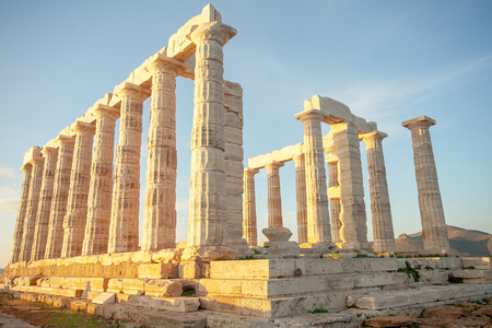 GRE Attica Sounio Poseidon temple by petinaki Greece
