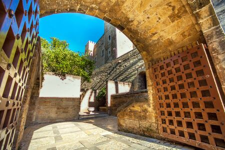 Palma de Mallorca Mallorca Spain 12.22.2018 at the Cathedral La Seu Publikacyjne