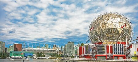 The skyline of Vancouver British Columbia Canada