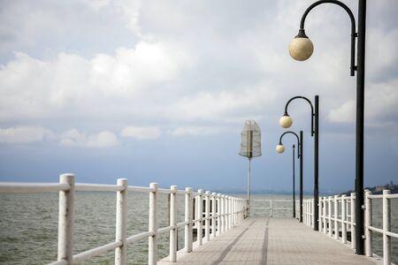 On Lake Trasimeno in Passignano sul Trasimeno Umbria Italy