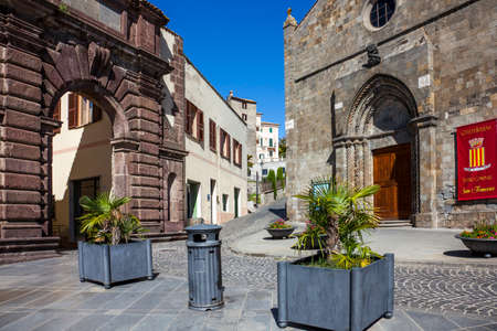 Bolsena Lazio Italy on October 04, 2019 the old town in the province of Viterbo