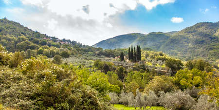 Beautiful landscape in central Tuscany Italy Italy