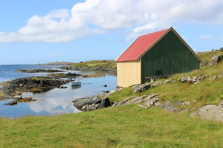 On the coast of Haugesund in Norway, Scandinavia, Europe.