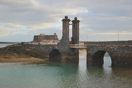 gabriel: Castillo de San Gabriel in Arrecife, Capital of Lanzarote, Canary Islands, Spain Editorial
