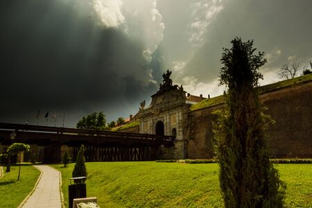 alba: Cloudy weather, Alba Iulia Fortress