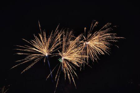 jahreswechsel: fireworks Stock Photo