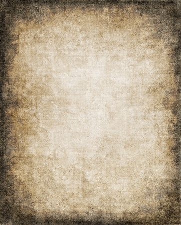 An old, vintage paper background with a subtle screen pattern and dark vignette. Stock Photo - 9815218