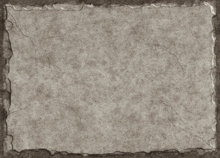 blank tablet: Old paper made to look like a stone tablet with a three-dimensional look and subtle crack lines.
