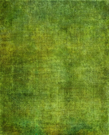 fabric texture: A vintage green background with a grunge screen pattern.