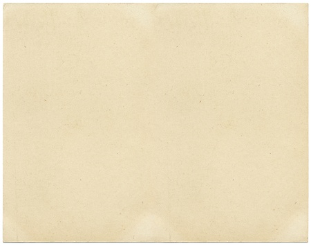 old fashioned sepia: Old card stock paper with subtle stains and spots.