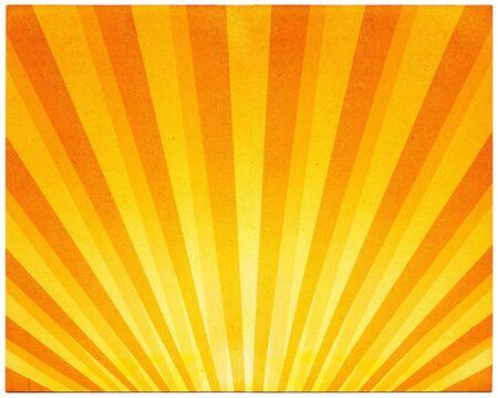 rayos de sol: Un patrón de luz en el viejo papel vintage.