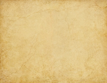 Old card stock paper with subtle stains and cracks. Stock Photo - 10137106
