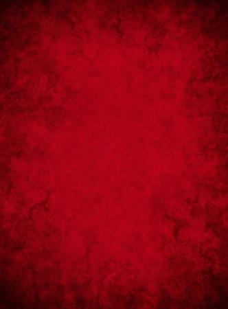 Un fondo de papel rojo oscuro con patrones de grunge moteado. Foto de archivo - 10184225