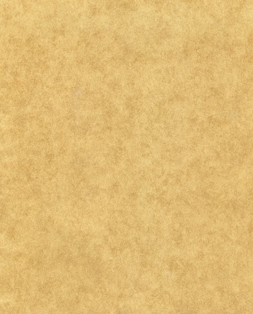 distressed texture: Old paper with a mottled fiber pattern.