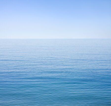 The Santa Barbara channel on an unusually calm day.