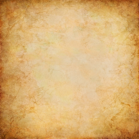 A vintage paper background with grunge patterns and textures. Stock Photo - 10367054