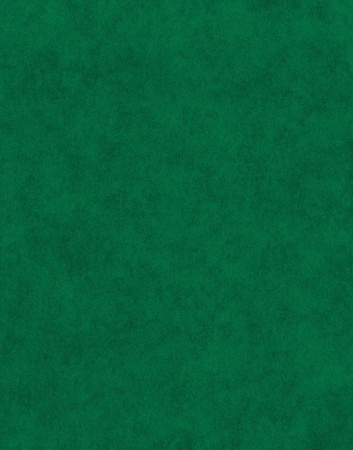 A textured green paper background.