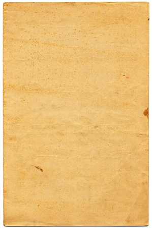 Old textured paper with creases and stains.