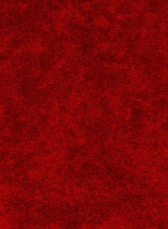 full red: Uno sfondo di carta rossa con i modelli struttura pesanti. Archivio Fotografico