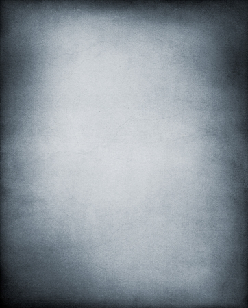 A vintage, textured paper background in cool black and white tones.