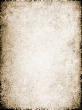 Cracks and stains on a vintage textured background. photo