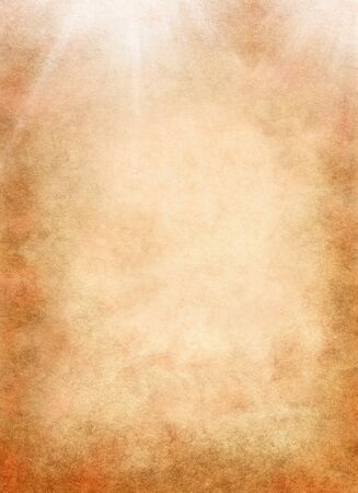 textured paper background: A textured paper background with light rays.