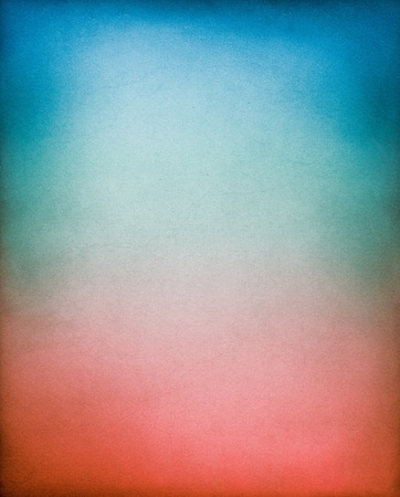 blue toned: A vintage, textured paper background with a red to blue toned gradient.