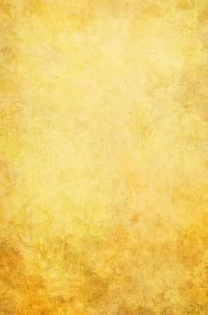 노란색과 갈색 그런 지 얼룩 질감, 빈티지 종이 배경. 스톡 콘텐츠