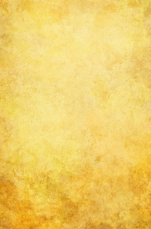 A textured, vintage paper background with yellow and brown grunge stains.