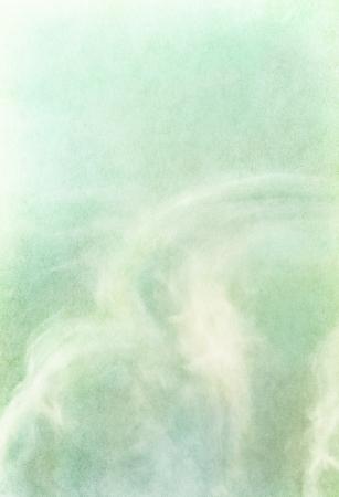 질감 빈티지 종이 배경에 미묘한과 전경이 구름. 이미지는 100 % 표시 기쁘게 종이 곡물 및 질감이 있습니다.